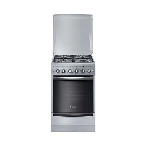 Газовая плита GEFEST ПГ 5100-02 0068, газовая духовка, серый