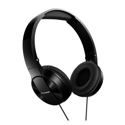Наушники с микрофоном PIONEER SE-MJ503T, 3.5 мм, мониторные, черный [se-mj503t-k] цена и фото