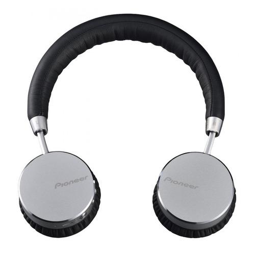 Наушники с микрофоном PIONEER SE-MJ561BT, Bluetooth, мониторные, серебристый [se-mj561bt-s] наушники pioneer se ms7bt s 3 5 мм bluetooth мониторные серебристый