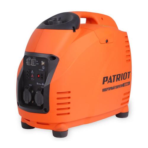 Бензиновый генератор PATRIOT 3000i, 220 В, 3.5кВт [474101045] patriot 3000i