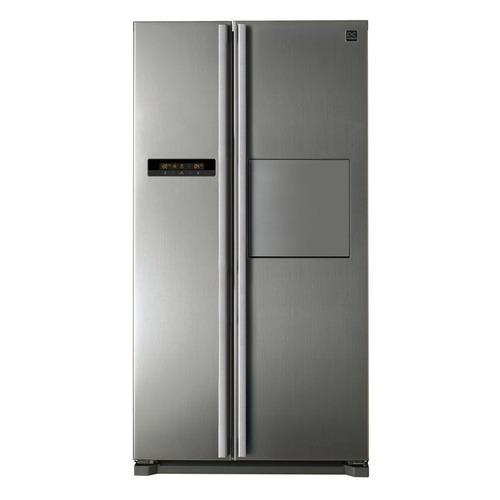 Холодильник DAEWOO FRN-X22H4CSI, двухкамерный, серебристый цены