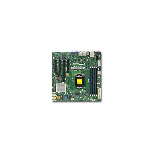 Серверная материнская плата SUPERMICRO MBD-X11SSM-F-O, Ret материнская плата supermicro mbd x10slm f o soc 1150 ic224
