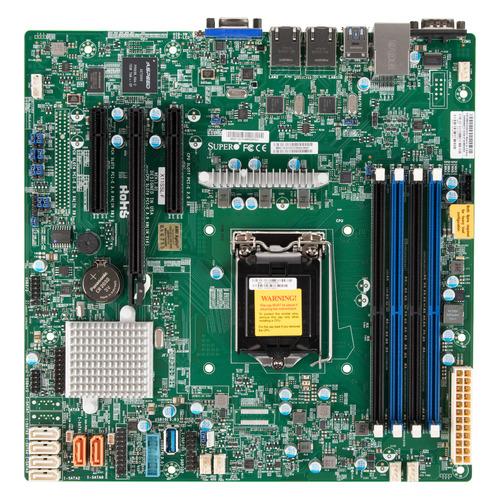 лучшая цена Серверная материнская плата SUPERMICRO MBD-X11SSL-F-O, Ret