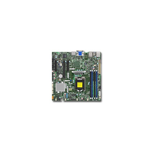 Серверная материнская плата SUPERMICRO MBD-X11SSZ-F-O, Ret материнская плата supermicro mbd x10slm f o soc 1150 ic224