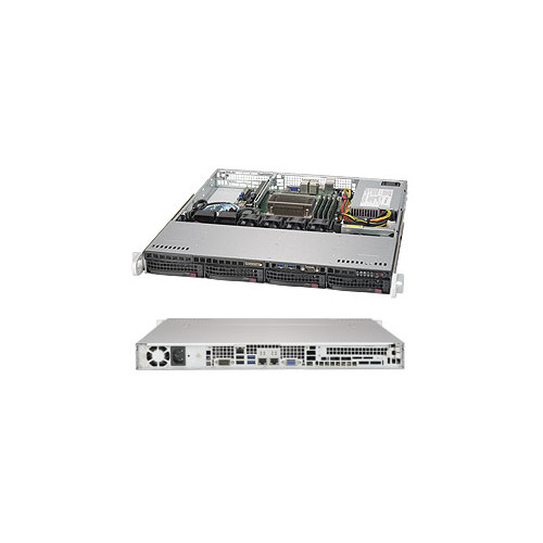 лучшая цена Платформа SuperMicro SYS-5019S-M RAID 1x350W