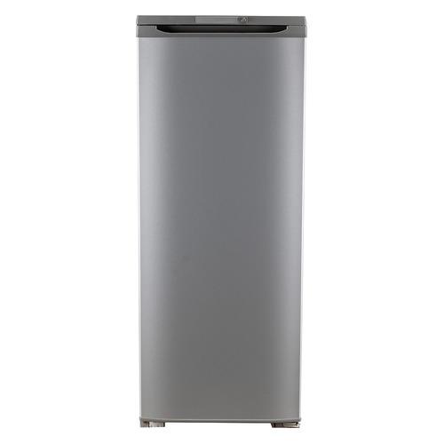 Фото - Холодильник БИРЮСА Б-M110, однокамерный, серый металлик холодильник бирюса б m70 однокамерный нержавеющая сталь
