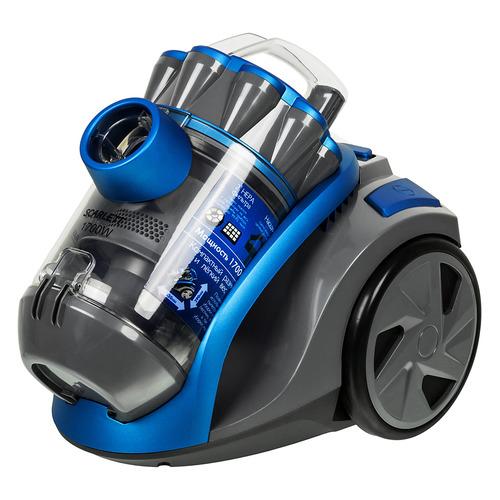 Пылесос SCARLETT SC-VC80C03, 1700Вт, синий пылесос scarlett sc vc80c03