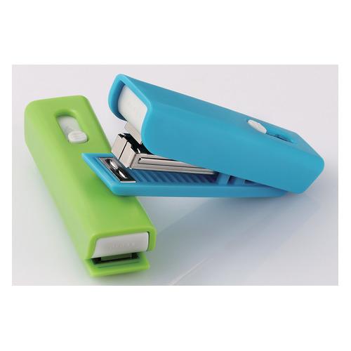 Степлер ручной Kw-Trio 053034 8G USB Twist N10 (10листов) ассорти 50скоб пластик блистер цена и фото