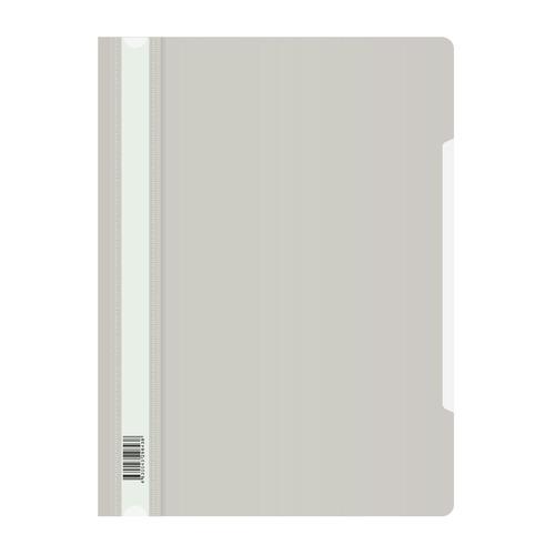 Упаковка папок-скоросшивателей БЮРОКРАТ -PSL20GREY, A4, пластик, серый