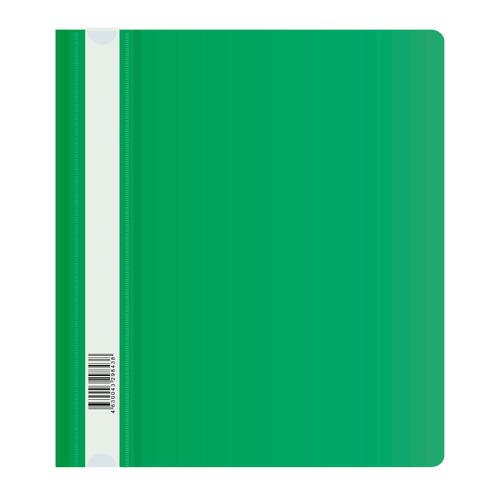 Упаковка папок-скоросшивателей БЮРОКРАТ -PSL20A5GRN, A5, пластик, зеленый