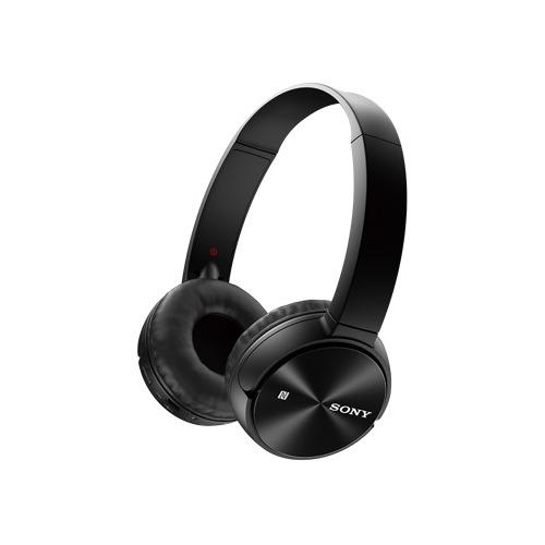цена на Наушники с микрофоном SONY MDR-ZX330BT, Bluetooth, накладные, черный [mdrzx330bt.e]
