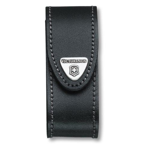 Чехол Victorinox 4.0520.3 нат.кожа петля черный без упаковки