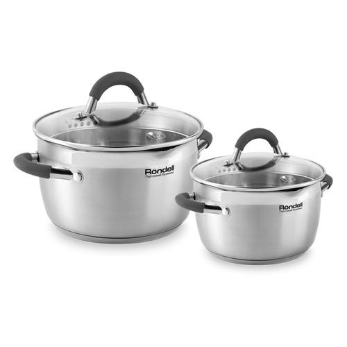 Набор посуды RONDELL Flamme RDS-339, 4 предмета недорого