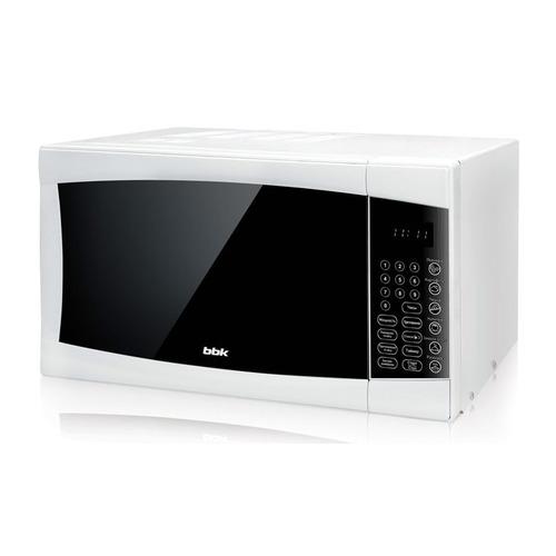 Микроволновая Печь BBK 23MWS-915S/W 23л. 900Вт белый микроволновая печь bbk 23mws 928m w ru 23л 900вт белый