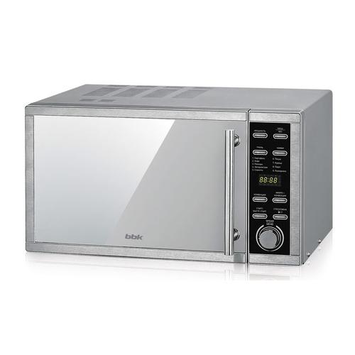 цена на Микроволновая Печь BBK 25MWC-990T/S-M 25л. 900Вт серебристый