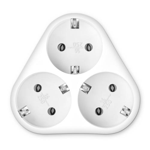 цена на Сетевой разветвитель BURO BU-PS3VG-W, белый