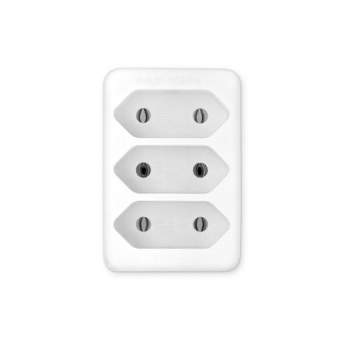 цена на Сетевой разветвитель BURO BU-PS3F-W, белый