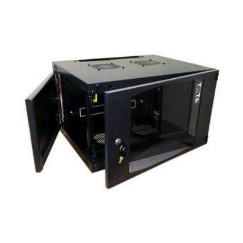 лучшая цена Шкаф коммутационный Lanmaster Next (TWT-CBWNG-9U-6X4-BK) 9U 550x450мм пер.дв.стекл 60кг черный