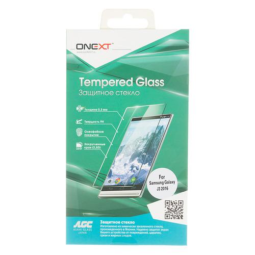 Защитное стекло для экрана ONEXT для Samsung Galaxy J3 2016, 1 шт [41020] цена