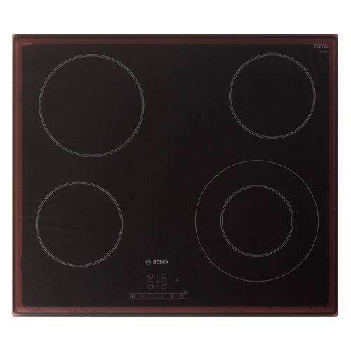 Варочная панель BOSCH PKF651B17, Hi-Light, независимая, черный