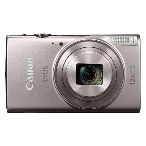 Фото - Цифровой фотоаппарат CANON IXUS 285HS, серебристый видео