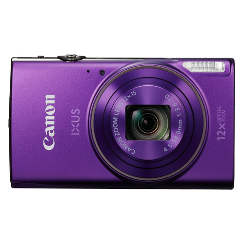 Фото - Цифровой фотоаппарат CANON IXUS 285HS, фиолетовый видео