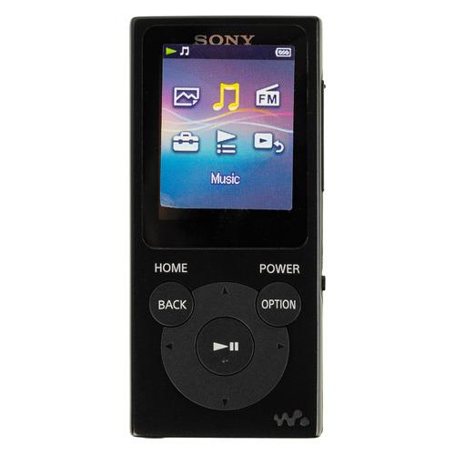 цена на MP3 плеер SONY NW-E394 flash 8Гб черный [nwe394b.ee]