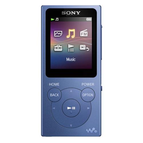 MP3 плеер SONY NW-E394 flash 8ГБ синий