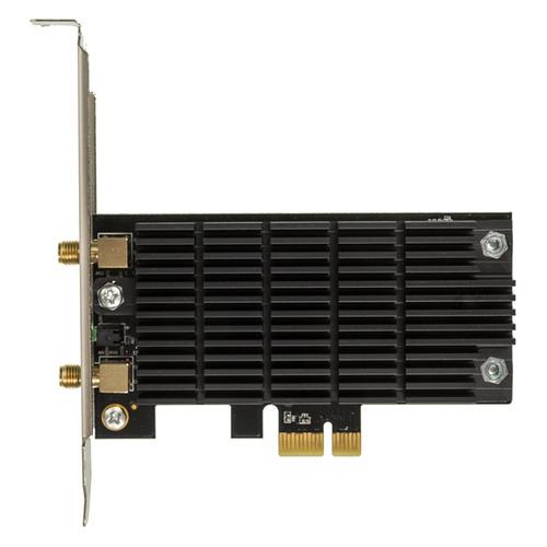 Фото - Сетевой адаптер WiFi TP-LINK Archer T6E PCI Express сетевой адаптер trendnet teg ecsx teg ecsx оптоволоконный многомодовый 1000base sx адаптер с интерфейсом pci express