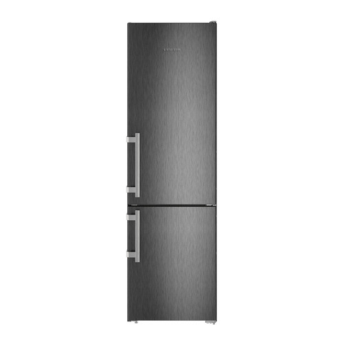 Холодильник LIEBHERR CNbs 4015, двухкамерный, черный двухкамерный холодильник liebherr cnbs 4015 20
