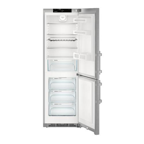 Холодильник LIEBHERR CNef 4315, двухкамерный, нержавеющая сталь цена