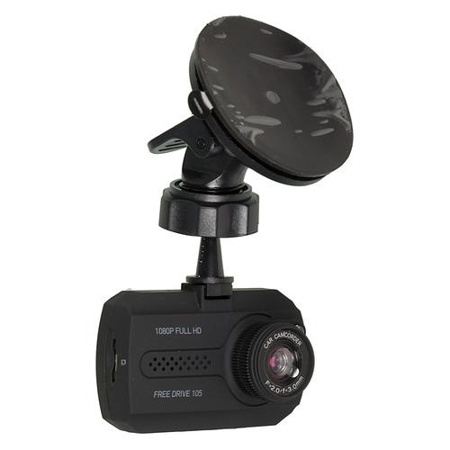 Видеорегистратор DIGMA FreeDrive 105, черный FREEDRIVE 105