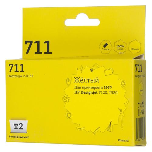 цена на Картридж T2 CZ132A, желтый [ic-h132]