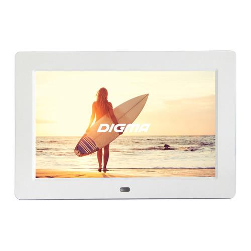 Фото - Цифровая фоторамка DIGMA PF-1033, 10.1, белый [pf1033w] видео