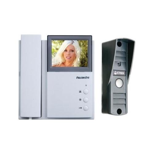 Видеодомофон FALCON EYE FE-4CHP2/AVP-505, ассорти видеодомофон falcon eye fe 4chp2 avp 505 ассорти