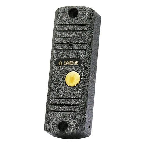 Видеопанель FALCON EYE AVC-305, цветная, накладная, черный видеопанель falcon eye fe ipanel 3 цветная накладная бронзовый