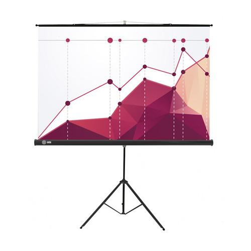 Фото - Экран CACTUS Triscreen CS-PST-180x180, 180х180 см, 1:1, напольный белый экран cactus triscreen cs pst 150x150 white