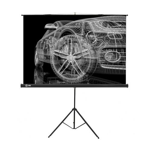 Фото - Экран CACTUS Triscreen CS-PST-124x221, 221х124.5 см, 16:9, напольный черный экран cactus triscreen cs pst 150x150 white