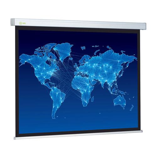 Фото - Экран CACTUS Wallscreen CS-PSW-150x150, 150х150 см, 1:1, настенно-потолочный белый экран cactus wallscreen cs psw 149x265 265 7х149 4 см 16 9 настенно потолочный белый