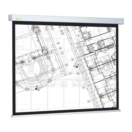 Фото - Экран CACTUS Wallscreen CS-PSW-104x186, 186х104.6 см, 16:9, настенно-потолочный белый экран cactus wallscreen cs psw 149x265 265 7х149 4 см 16 9 настенно потолочный белый