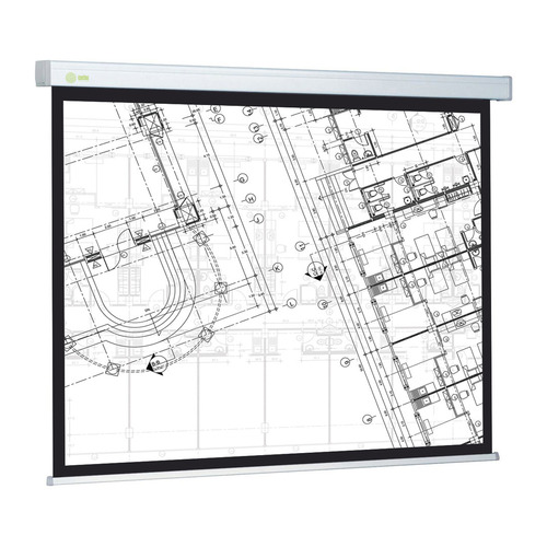Фото - Экран CACTUS Wallscreen CS-PSW-124x221, 221х124.5 см, 16:9, настенно-потолочный белый экран cactus wallscreen cs psw 149x265 265 7х149 4 см 16 9 настенно потолочный белый