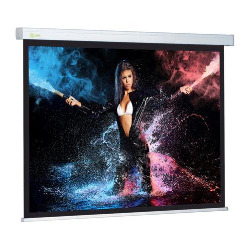 Фото - Экран CACTUS Wallscreen CS-PSW-168x299, 299х168 см, 16:9, настенно-потолочный белый экран cactus wallscreen cs psw 149x265 265 7х149 4 см 16 9 настенно потолочный белый