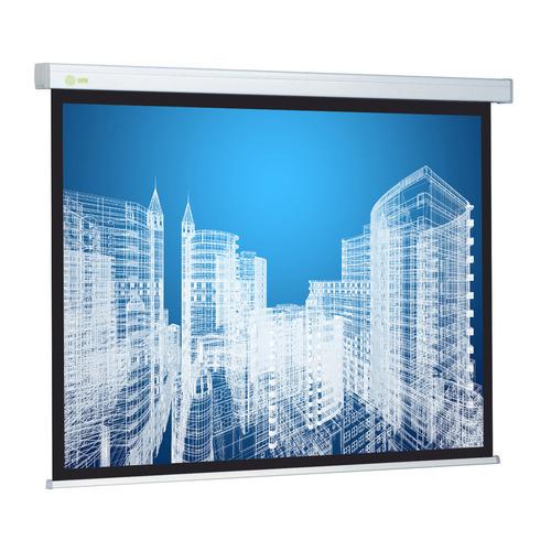 Фото - Экран CACTUS Wallscreen CS-PSW-183x244, 244х183 см, 4:3, настенно-потолочный белый экран cactus wallscreen cs psw 149x265 265 7х149 4 см 16 9 настенно потолочный белый