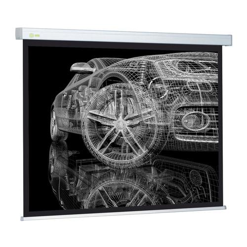Фото - Экран CACTUS Wallscreen CS-PSW-206x274, 274х206 см, 4:3, настенно-потолочный белый экран cactus wallscreen cs psw 149x265 265 7х149 4 см 16 9 настенно потолочный белый