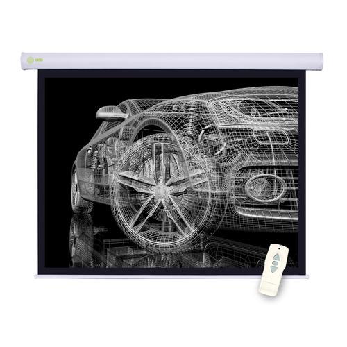 цена на Экран CACTUS Motoscreen CS-PSM-150x150, 150х150 см, 1:1, настенно-потолочный
