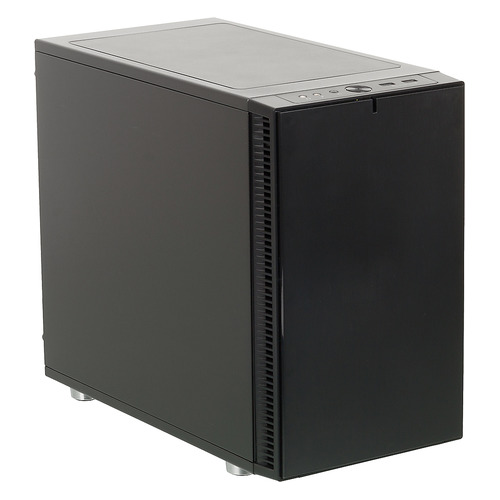 Корпус miniITX FRACTAL DESIGN Define Nano S, Midi-Tower, без БП, черный [fd-ca-def-nano-s-bk] корпус mini itx fractal design define nano s без бп чёрный