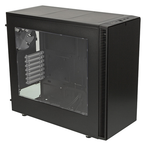 Корпус ATX FRACTAL DESIGN Define S Window, Midi-Tower, без БП, черный [fd-ca-def-s-bk-w] Define S Window по цене 8 000