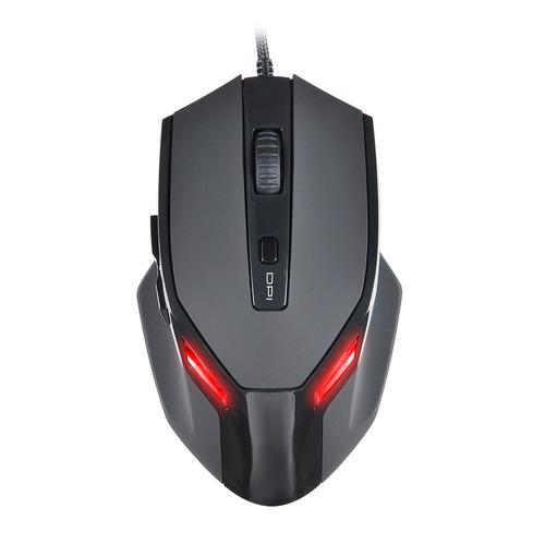 Мышь OKLICK 835G PREDATOR, игровая, оптическая, проводная, USB, черный [sm-k9500] цена и фото