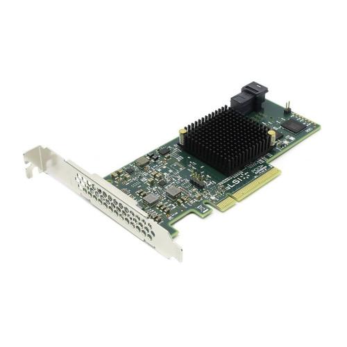 Фото - Контроллер LSI 9300-4I SGL 12Gb/s HBA 4i-ports (LSI00346 / H5-25473-00) контроллер hpe h241 smart hba