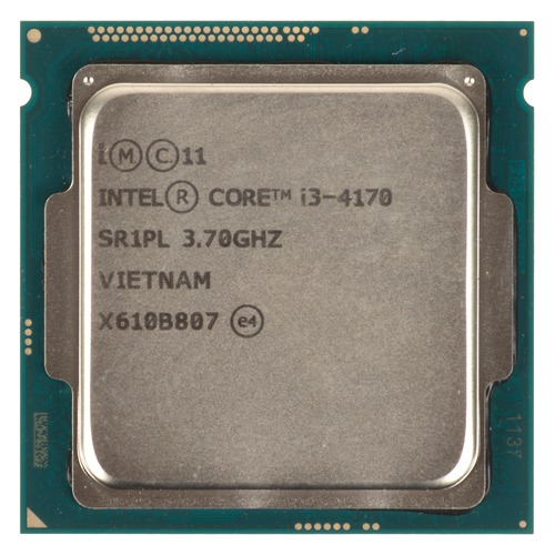 Процессор INTEL Core i3 4170, LGA 1150 OEM процессор intel core i3 4160 3600 3m soc 1150 cm8064601483644s r1pk